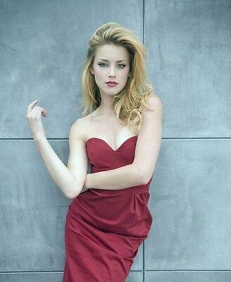 Amber Heard 8X10 Glossy Photo Print  Ah7