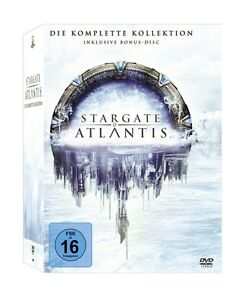 Stargate Atlantis - Season/Staffel 1+2+3+4+5 * NEU OVP * 26 DVDs * Komplettbox
