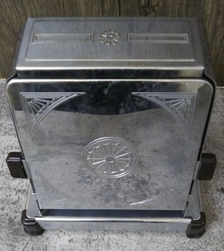 ANTIQUE   UNIVERSAL  TOASTER BY LANDERS FRARY & CLARK W/ CORD VINTAGE 20