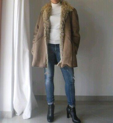 Montone Vero Vintage Beige Donna