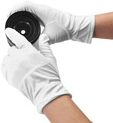 5 X Pairs Jewellery Gloves White Work Handling Costume Cotton Soft Thin 10 Piece