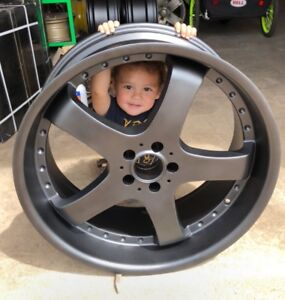 Let's get after powder coating your wheels and parts!