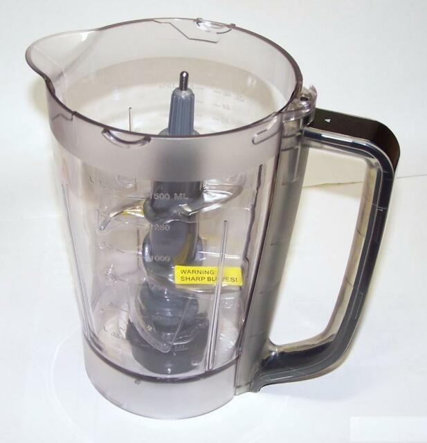 Ninja Kitchen System Pulse 48 Oz Pitcher Blade Lid for Bl250 Bl206 ...