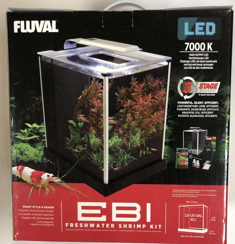 Fluval EBI Freshwater Shrimp Kit LED New 10513