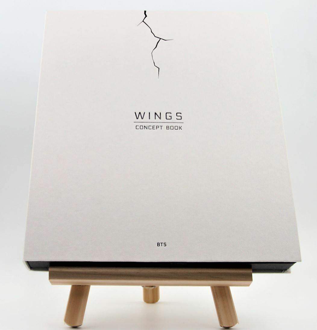 BTS Wings Concept Book Bangtan Boys Members Limited Edition KPOP Korea