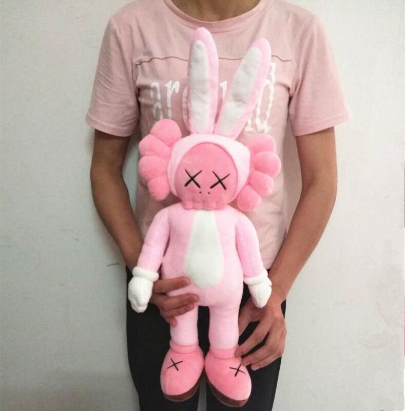 KAWS Pink Rabbit Companion Plush Doll Toy 40CM