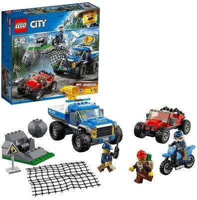 LEGO CITY POLICE DUELLO FUORI STRADA DAI 5 ANNI IN SU OTTIME CONDIZIONI