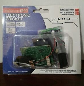Velleman Mini Kit MK104 Electronic Cricket DIY KIT Ages 13+ NEW