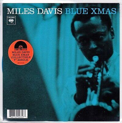 "Miles Davis - Blue Xmas / Devil May Care - 7"" US Blue RSD 2014 Vinyl 45 - New"