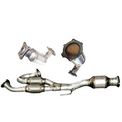 Fits Nissan QUEST 35L ALL THREE Catalytic Converters 2005 2006  All Hardware