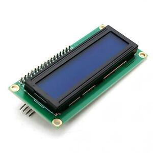 Nuevo-Azul-IIC-I2C-TWI-modulo-LCD-de-pantalla-de-1602-Serial-16x2-para-Arduino-Laus