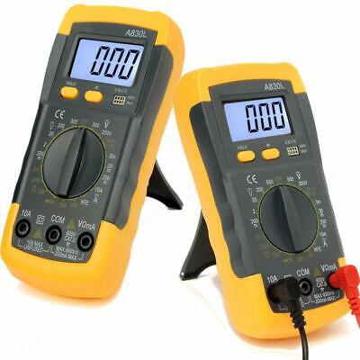 Lcd Digital Multi Tester Voltmeter Ammeter Ohmmeter Ammeter Capacitance Acdc
