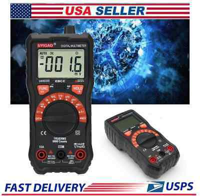 Digital Multimeter Voltmeter Ammeter Ua9233e Portable Lcd Display Auto Off  2