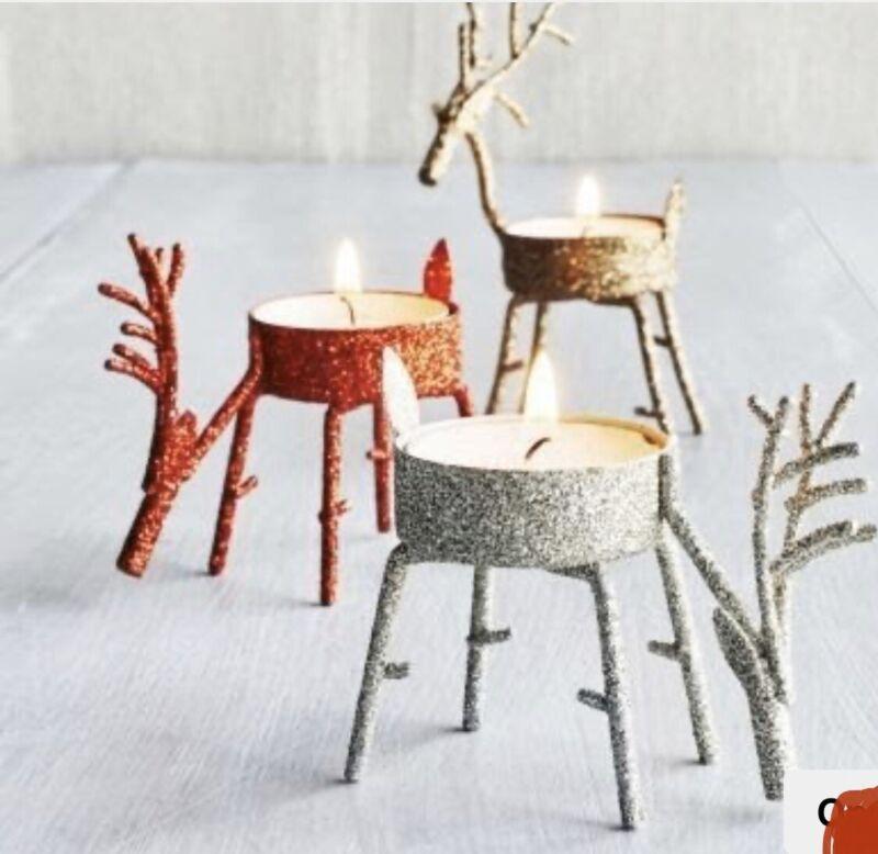 Deer Tealight Holder Sur La Table NEW