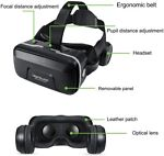 VR Headset Virtual Reality 3D Goggles For iPhone 6 6S 5 5S Plus Samsung S7 S8 S9 1