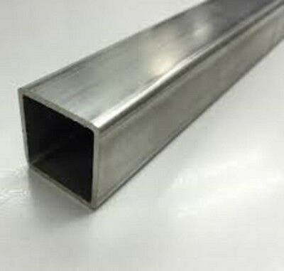 Stainless Steel Square Tube - 6 X 6 X 14 X 41 Long 308