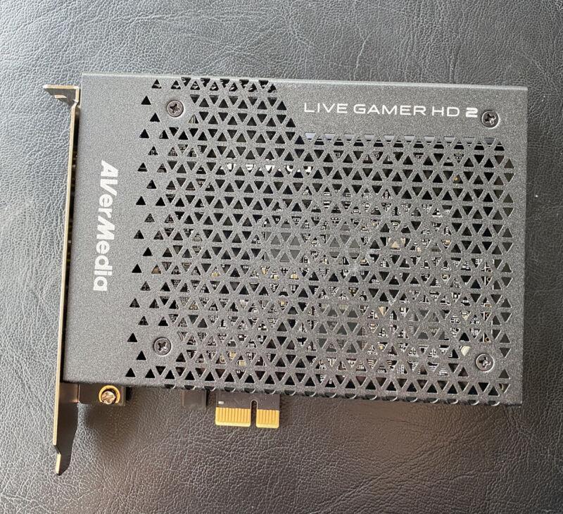 AVerMedia GC570 Live Gamer HD 2 Video Card - Black