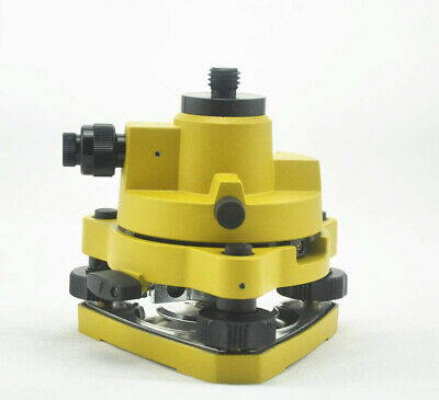 Yellow Tribrach Adapter With Optical Plummet With 58x11 Thread