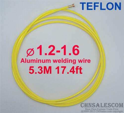 European style MIG MAG Graphite Liner 1.0-1.6 Welding Wire 5.3M 17.4ft