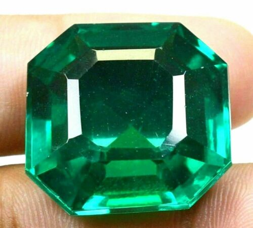 VVS 57.60 CT Colombian Natural Green Emerald CERTIFIED Loose Gemstone GS0303