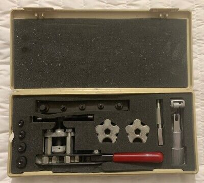Jasco - Wolco Model 100 Tube Flaring Tool Kit With Accesories Carrying Case