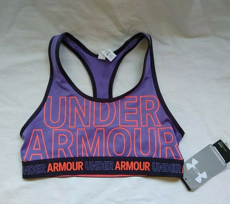 UNDER ARMOUR GIRL SPORTS BRA, SIZE YLG