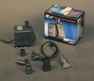 TAAM-Rio-Plus-600-Aqua-Pump-Fountain-Submersible-Powerhead-200-GPH-NIB