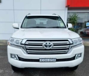 2021 Toyota Landcruiser VDJ200R GXL White 6 Speed Sports Automatic Wagon Tweed Heads South Tweed Heads Area Preview