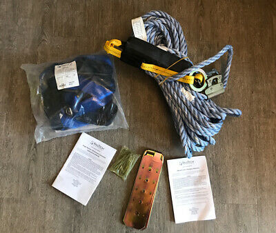 Falltech Roofers Kit 8593a Harness Rope Lanyard Rope Grab Roof Anchor