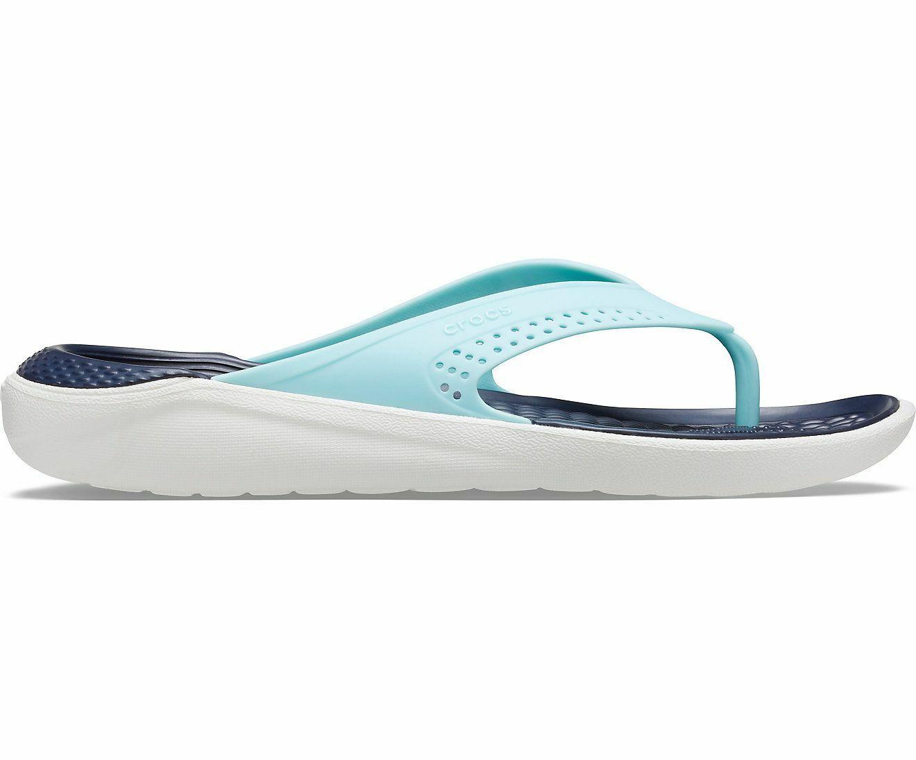 Details about  /Crocs LiteRide Flip Flop Sandals Lightweight Padded Summer Holiday Beach Unisex