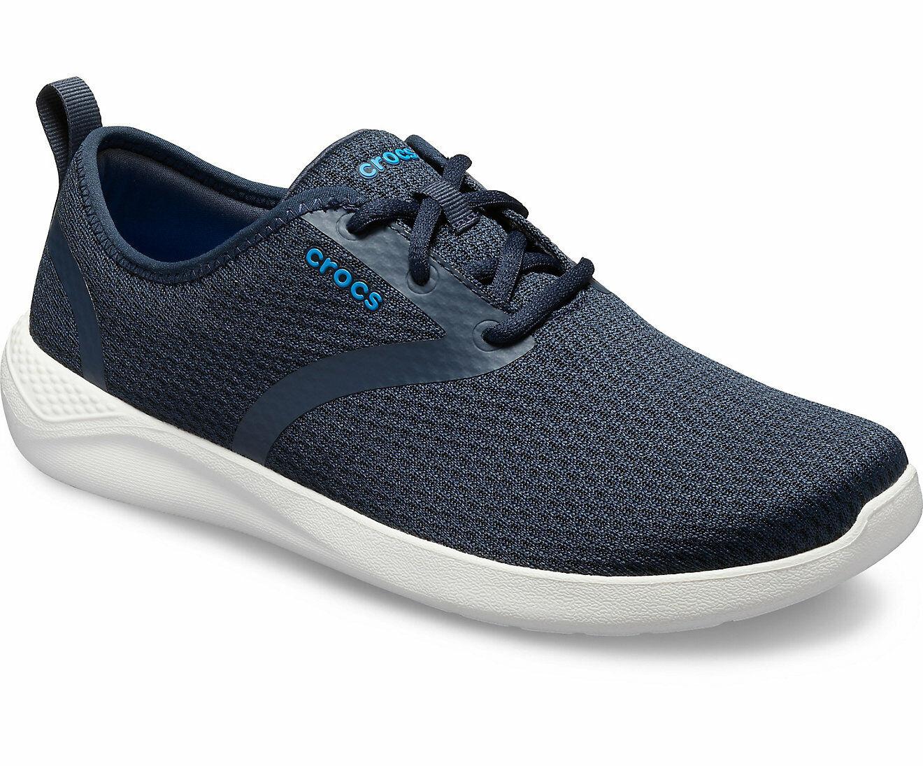 Crocs LiteRide Mesh Lace Men's Sneakers - 205678  New!
