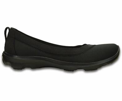 *NEW* Crocs Ballet Flats Busy Day Stretch Flat for Women - Size W