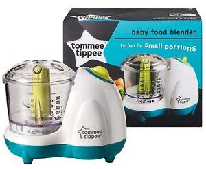 Baby Food Maker Blender Steamer Bullet Processor Tommee Tippee Toddler Small