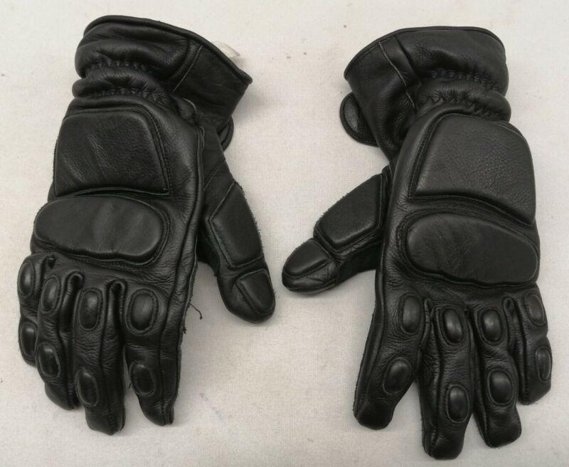 Genuine Ex Police MLA Defender Gloves Black Public Oder Uniform Patrol Duty SIA