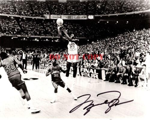 Michael Jordan Ncaa North Carolina Signed 8x10 Autographed Photo Reprint