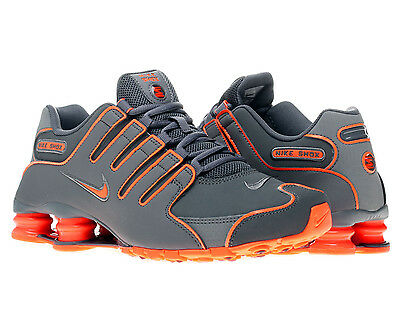 Nike Shox Nz Dark Grey/Total Orange