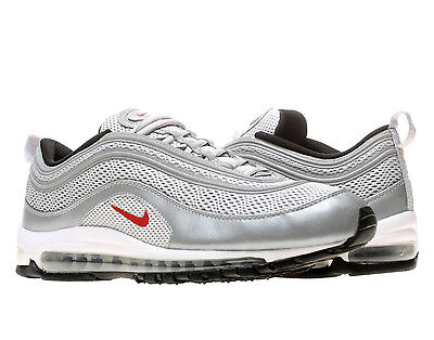 Air Max 97 Og Qs - Men Metallic Silver / Varsity Red / Black