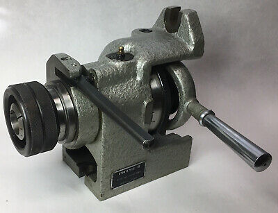 Phase Ii 5c Collet Indexer Rotary Spin Indexing Fixture Vertical Horizontal