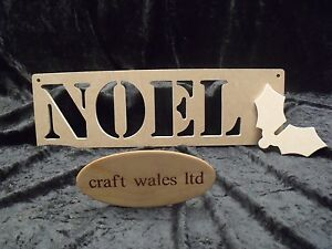 Wooden words noel mdf letters freestanding sign plaque for Furniture 5 letters word whizzle
