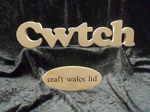 Cwtch freestanding mdf wooden sign decorate word words for Furniture 5 letters word whizzle