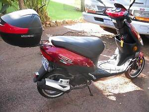 Moped - Scooter MCI 50cc petrol with Back pack Maddington Gosnells Area Preview