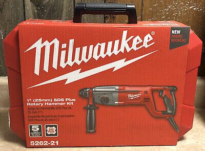 Milwaukee 1 Sds Plus Rotary Hammer Kit 5262-21 New