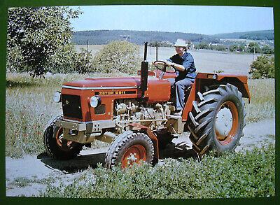 ZETOR 6911 - Traktor/Schlepper - original Typenblatt - Motokov CSSR ca. 1970 TOP na sprzedaż  Wysyłka do Poland