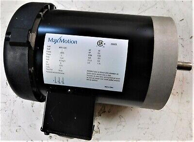 12 Hp Max Motion Mpr-124c Motor Frame 56hc 1800 Rpm - New Surplus