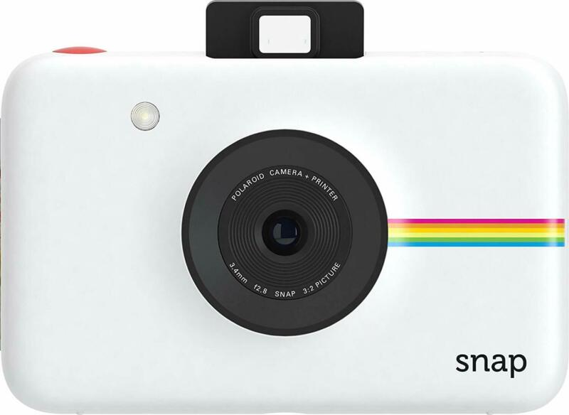 Polaroid Snap Touch Instant Print Digital Camera With LCD Display - White