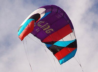 BRAND NEW Flexifoil 2.4m2 Sting 4-Line Power Kite