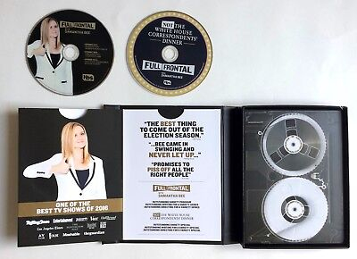 Full Frontal With Samantha Bee  2 Dvd  For Your Consideration 2017 Tv Comedy Tbs