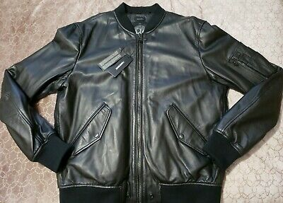 DIESEL L-DEVRA LEATHER JACKET SIZE XXL 100% AUTHENTIC