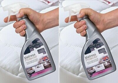 MATTRESS PROTECTOR SPRAY UPHOLSTERY WATERPROOF  STAINS SPILLS  2 X 500ML 73:1 Upholstery Protector Spray
