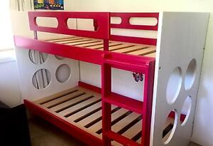 Modern Double Bunk Bed (extra for mattresses) Elanora Heights Pittwater Area Preview